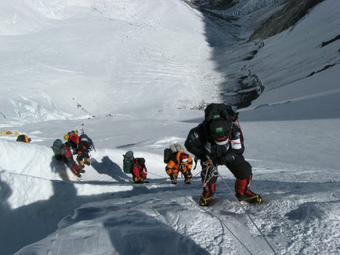 En vandring till Mount Everest base camp